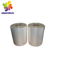 Hot shrink film sale pof with five layer coextruded high transparent pet