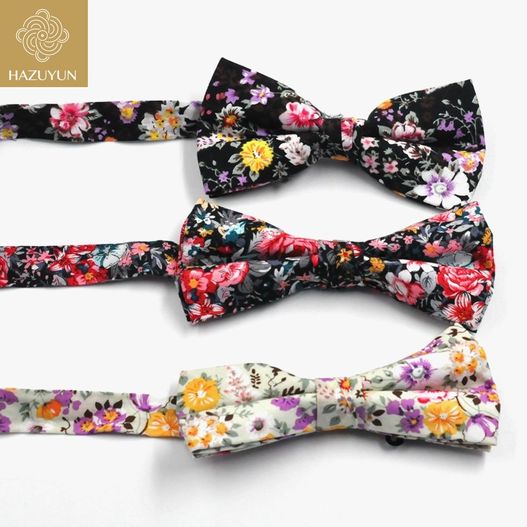 Wholesale flashing men printing bowties