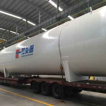 Top cryogenic liquid carbon dioxide storage chemical oxygen tank