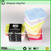 Plastic custom eco friendly 3 compartment kids bento box container bento Lunch Box