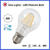Super high lumen energy save factory price led lights A60 8w e27 wholesale led filament bulb