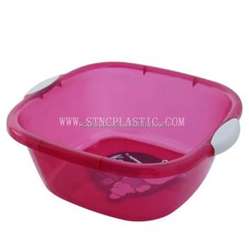 Rectangular Foot Tub Soak Thick Foot Wash Basin With Handles Buy