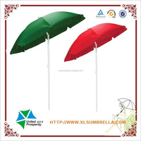 Custom solid colored polyester large patio umbrellas for sale