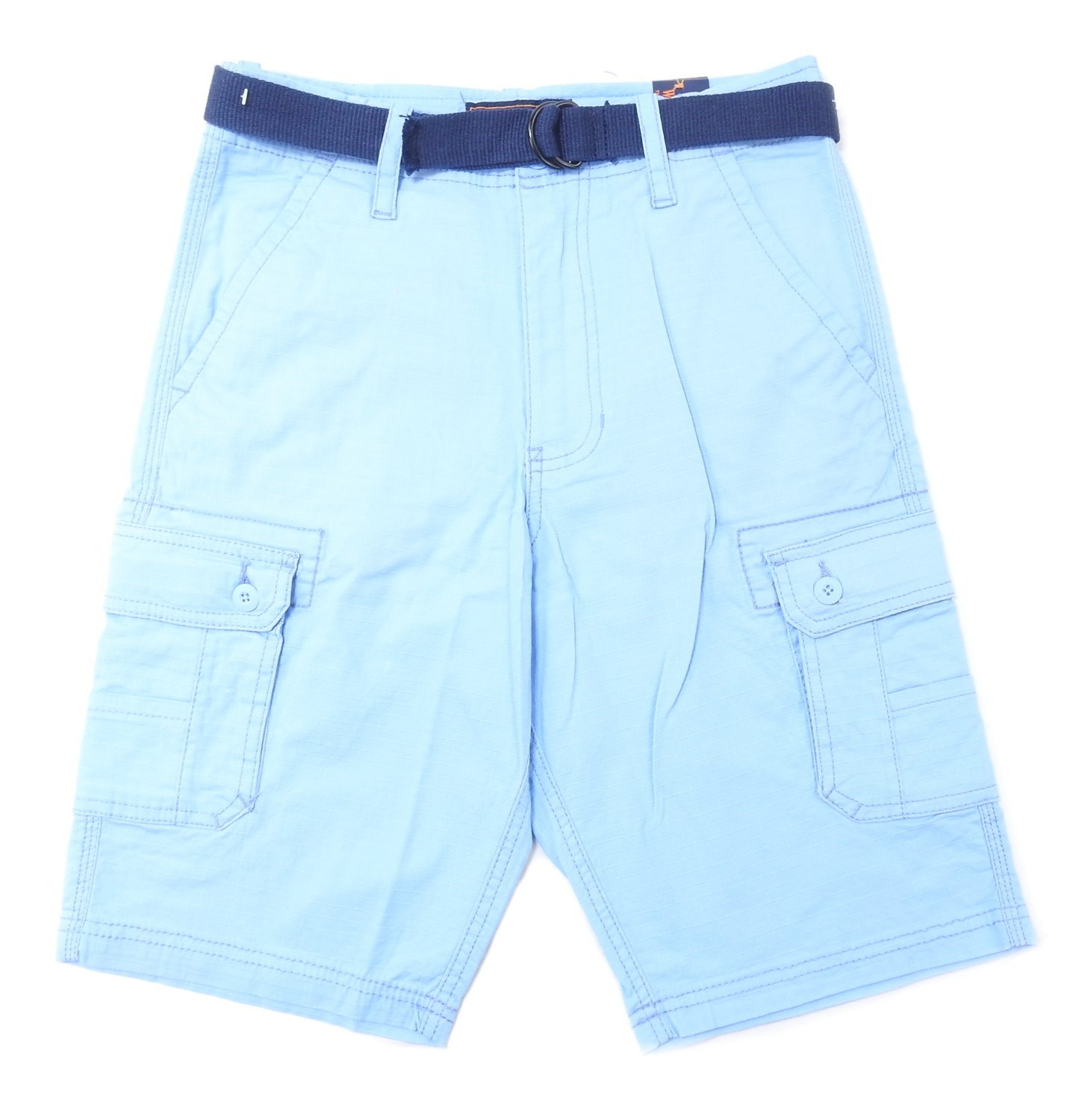 00b5b502f1a7 Get Quotations · Wear First Boy s Size 12 Belted Cargo Shorts