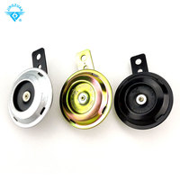 3 Colours Universal Motorcycle Electric Horn 12V 1.5A 105db Waterproof Loud Horn Speakers for Motorcycle Electric Bike horn