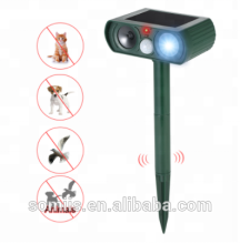 Solar Tier Outdoor Ultraschall Infrarot Licht-Stick Hund Und Katze Ultraschall Multifunktions <span class=keywords><strong>Vogel</strong></span> <span class=keywords><strong>Repeller</strong></span>