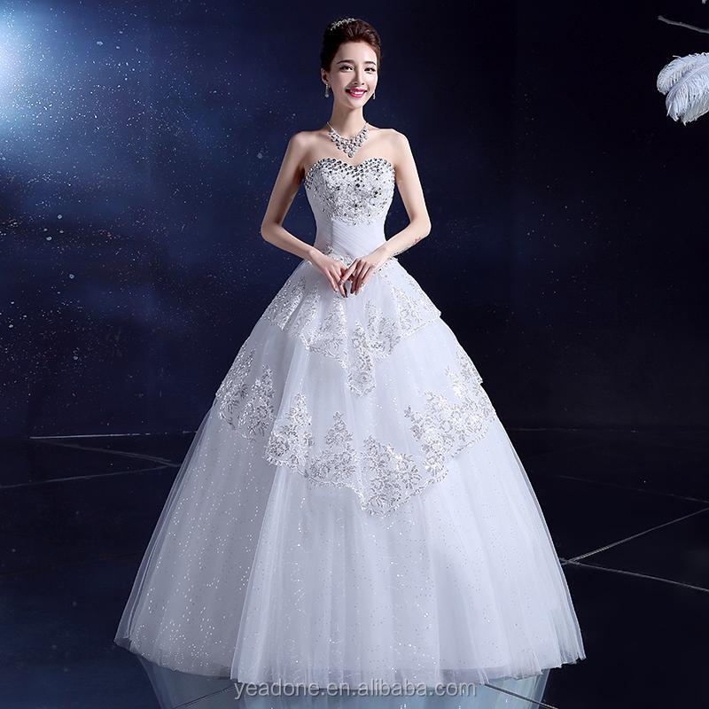 china fábrica de vestido de boda venta al por mayor rojo y blanco