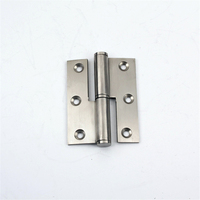For Doors Cabinets or Machines Detachable Aluminum Hinges