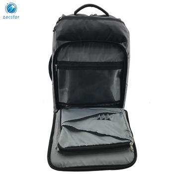 Wasserdichte Reiserucksack-Tasche mit Organizer Gepäckgurt Carry-on Weekend Backpack Bag