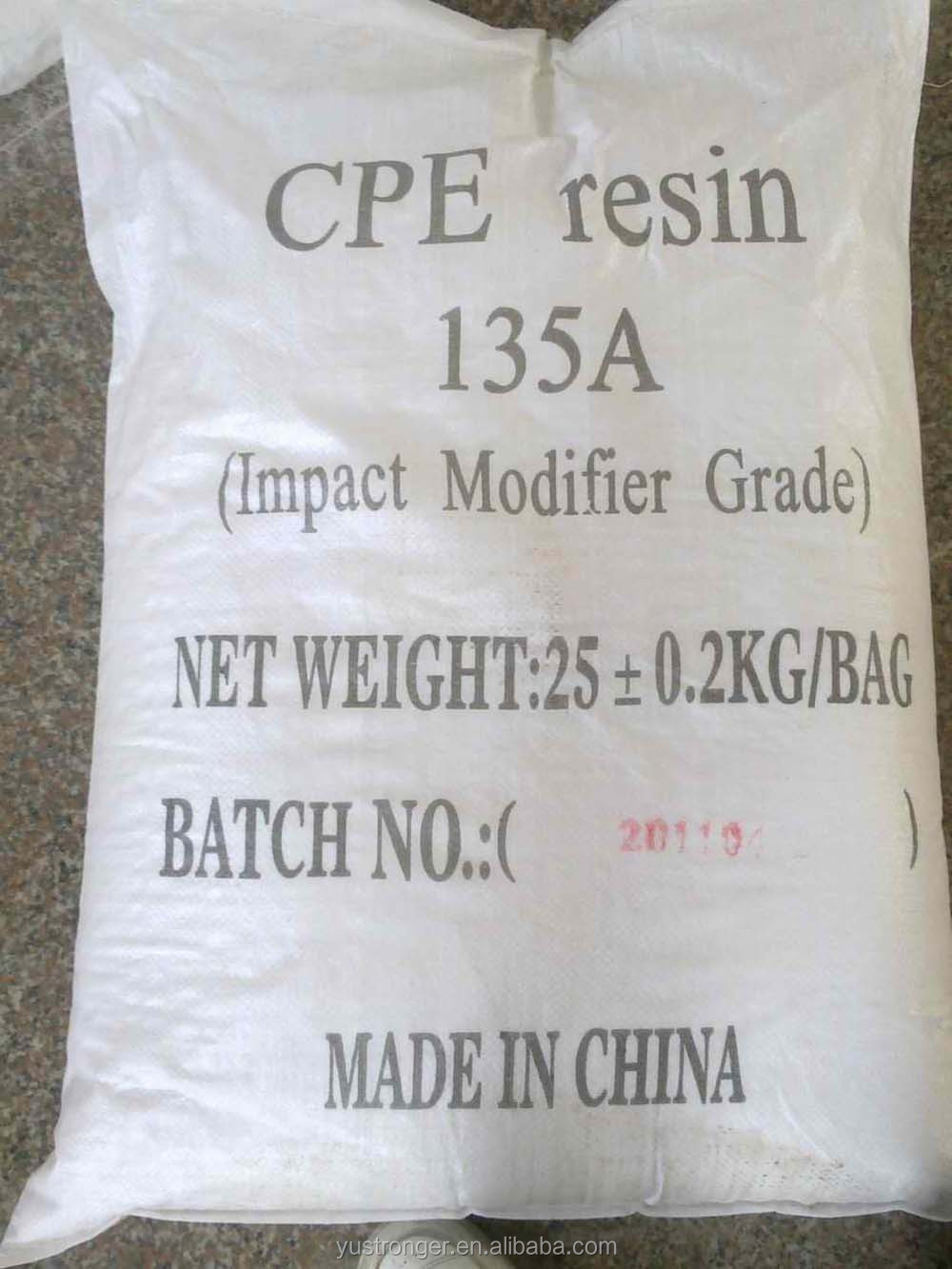 Factory directly quotations CPE 135a for making pvc pipes
