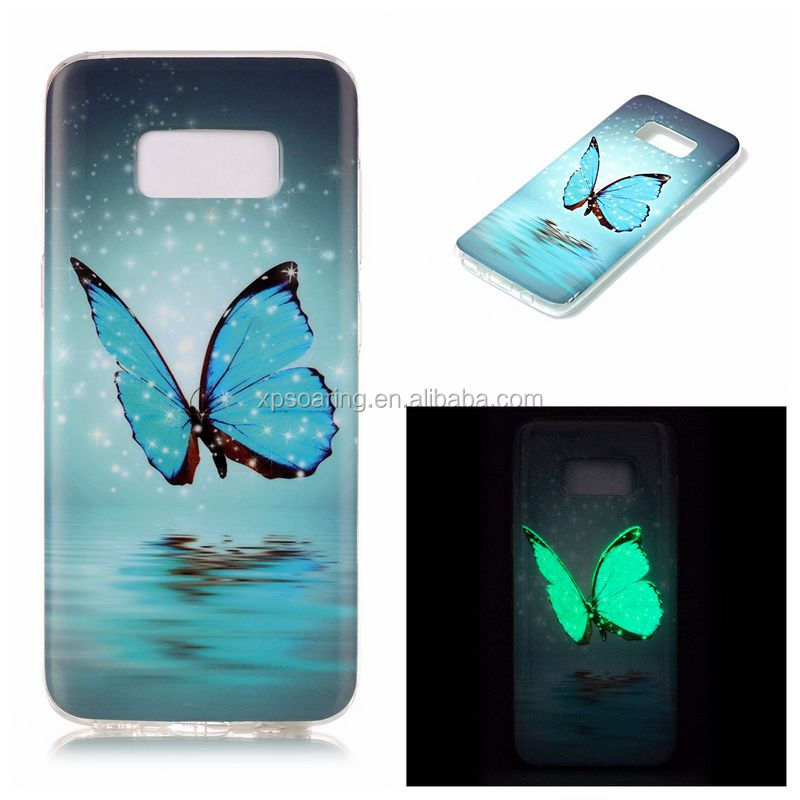 Wholesale IMD luminous tpu case skin <strong>cover</strong> for Samsung Galaxy S8