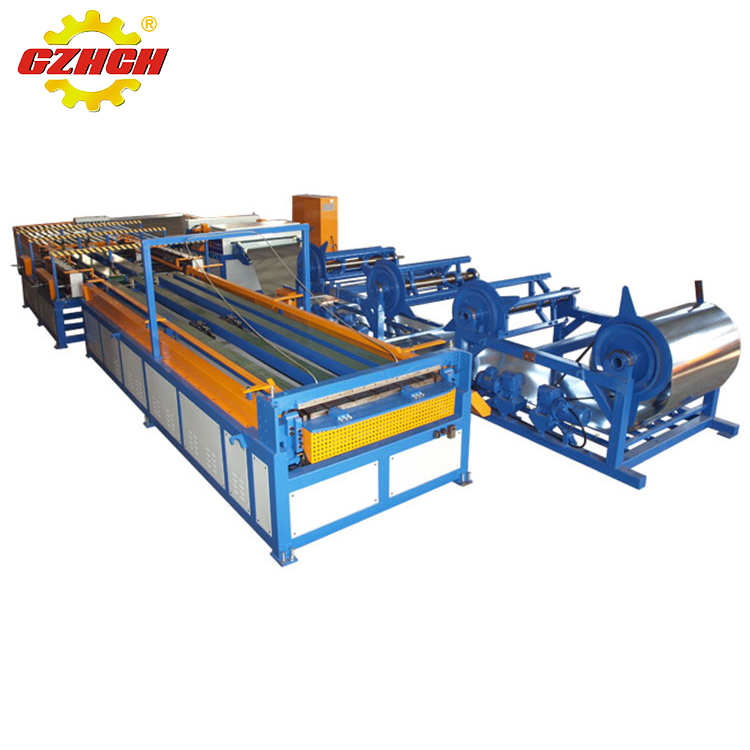 Hot sale ventilation duct metal sheet forming machine auto air duct production line