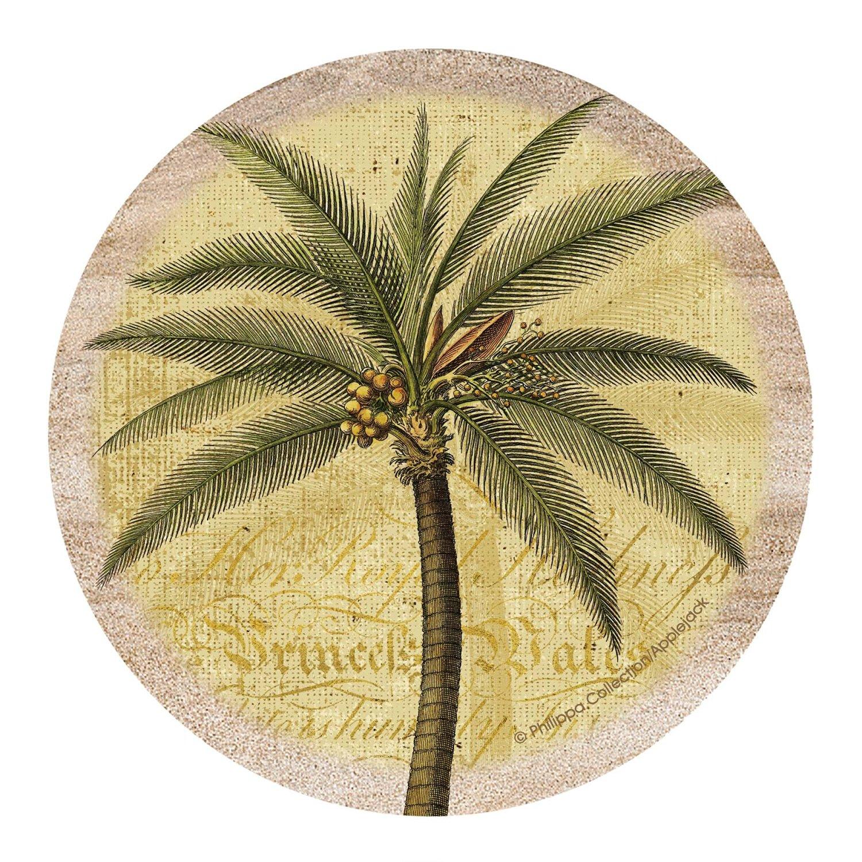 Thirstystone Drink Coaster Set, Palm