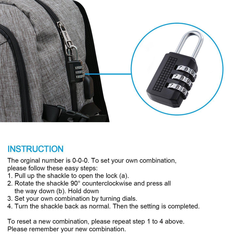 custom logo OEM business backpack have laptop pocket with USB port and locks