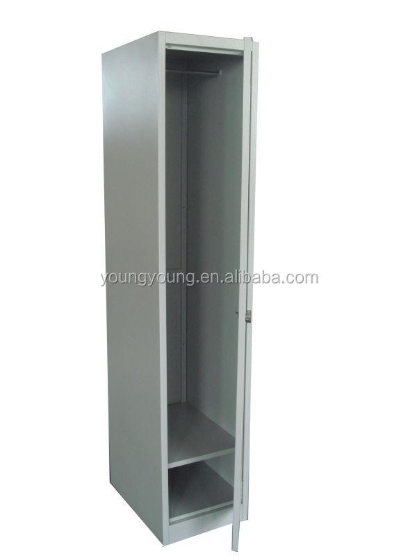 Superb Simple Design 2 Door Steel Wardrobe Cabinet / Clothes Closet In Bedroom
