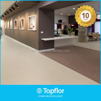 Topflor Cheap Price 2mm Office Pvc Flooring Vinyl Roll