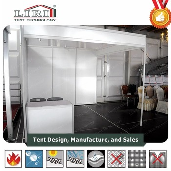 Exhibition Shell Scheme For Sale : Hot sale 3*3 shell scheme booths modular exhibition product display