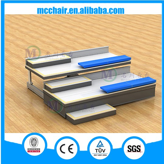 Mars retractable seating system grandstand seating portable basketball bleachers grandstand