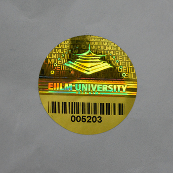 Laser Printing Custom 3d Adhesive Aluminium Foil Holographic Label Stickers  For Packaging - Buy Label Sticker,Holographic Sticker Label,Holographic