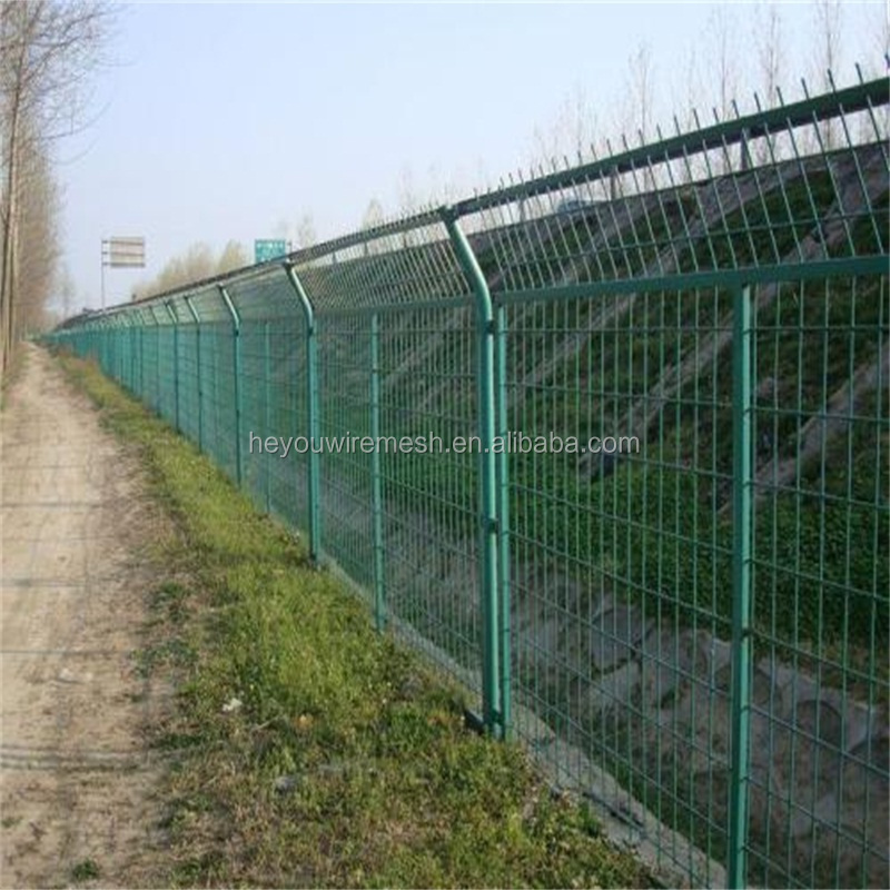 Heyou which has good reputation in the field produce high quality 358 fencing mesh