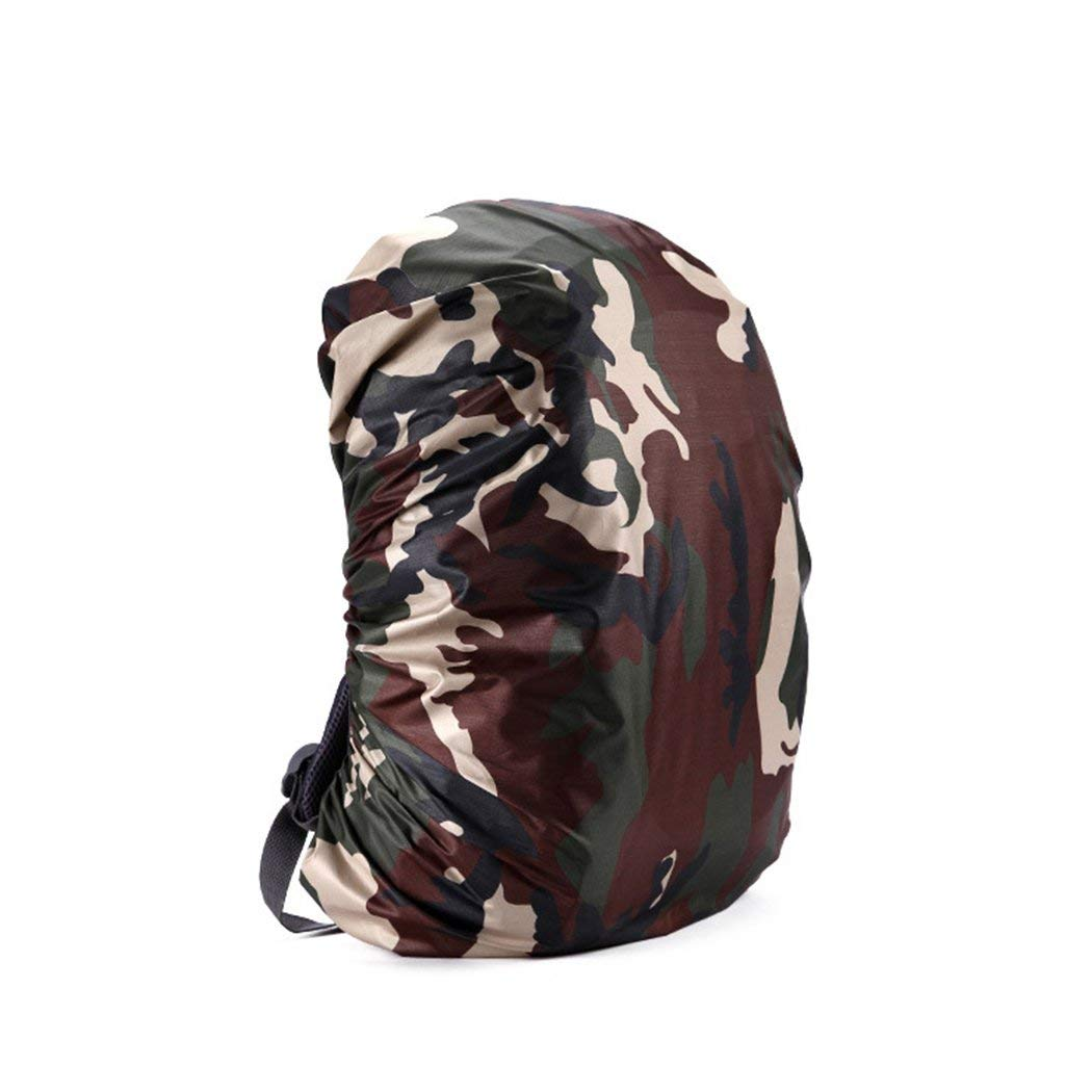 BE22 Camo Backpack Cover Parts Outdoor Waterproof Backpack Raincoat Hiking Gift