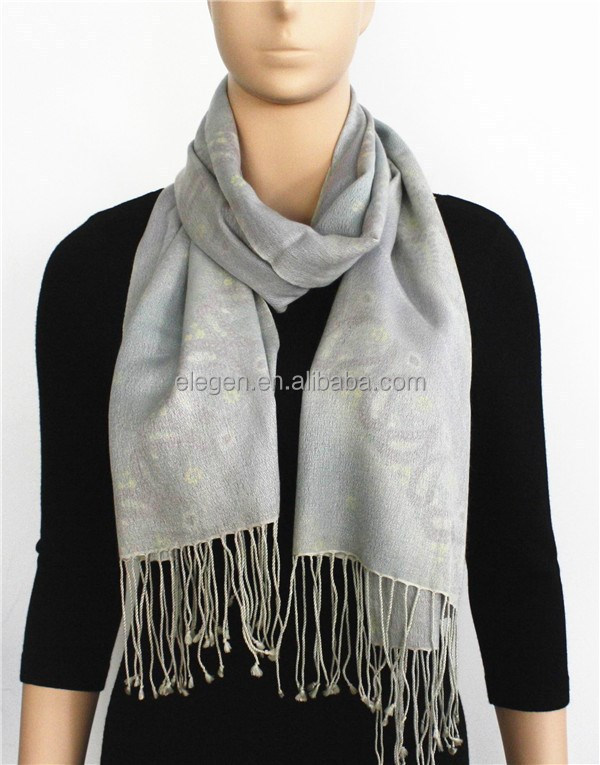 Cashmere and Silk Blended Scarf