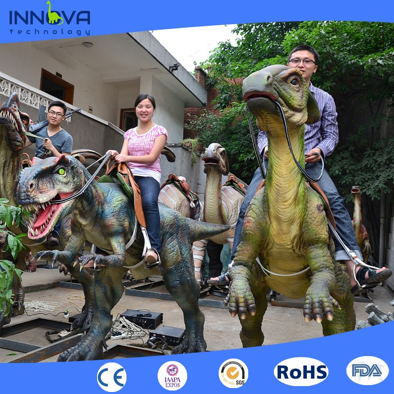 Innova - Amusement park dinosaur family rides with coin operated <strong>game</strong>