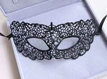 Fashion & Popular mini masquerade mask halloween Masked ball half metal bat mask
