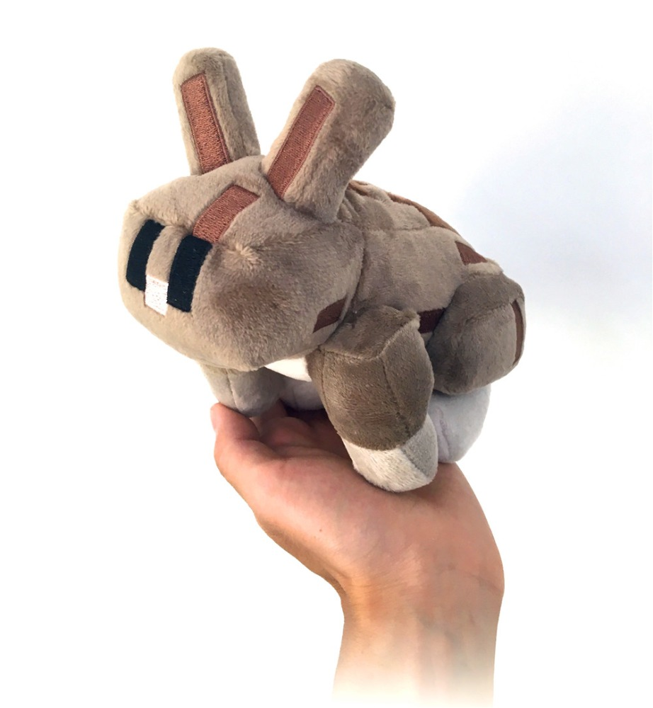 Wholesale video game toy -7 inch cuddle brown <strong>rabbit</strong> stuffed animal