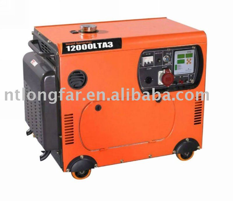 10kw AC three phase silent generator set