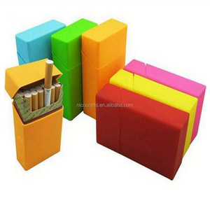 Quality metal Cigarette Holder Case with Charged USB Lighter