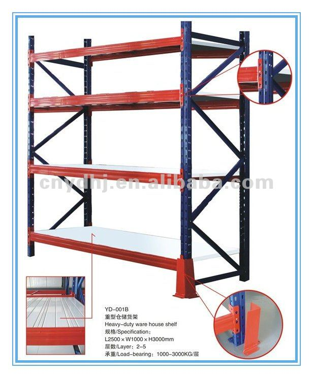 Iron Steel Pipe Storage Rack Shelf