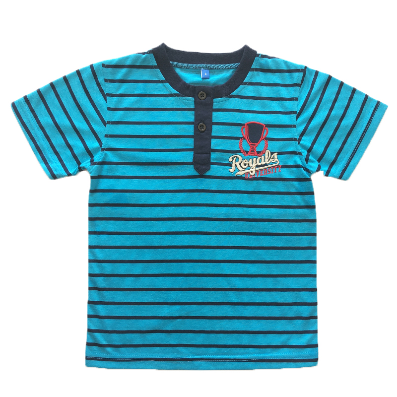 OEM custom cotton short sleeve children tshirt for boy and children
