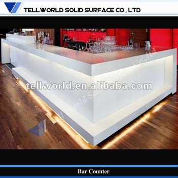 Commerciale Moderno Arredamento Bar Art Design Bancone Da Bar Buy Bancone Da Bar Piccolo Banco Bar Commerciale Banchi Bar Di Design Product On