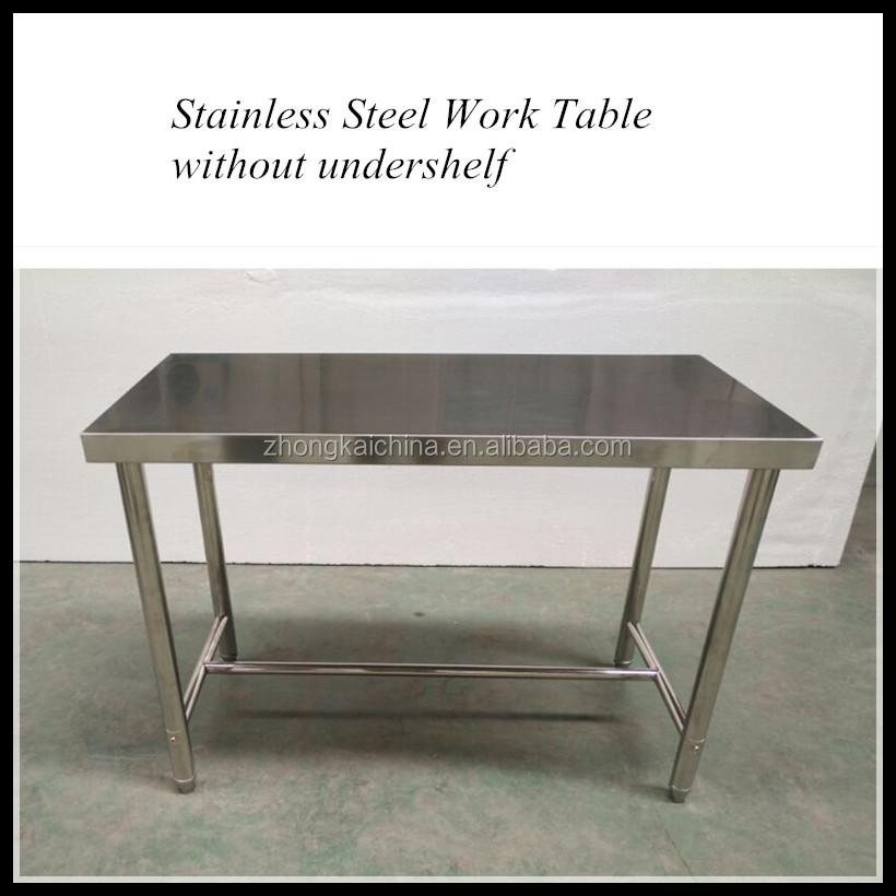 Cucina ristorazione in acciaio inox commerciale tavolo di - Tavolo lavoro cucina ...