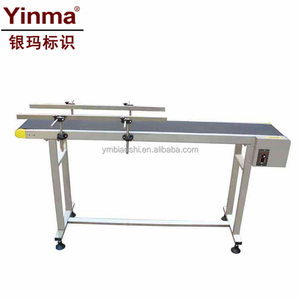 Hot Sale Stainless Steel Nylon Conveyor Belt Table Machine for inkjet printer