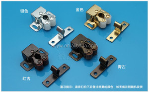Factory price door Catch/roller catch/double roll catch with screw
