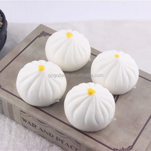 China Hot Selling Squishy Kawaii Buns With Stress Relief Functions
