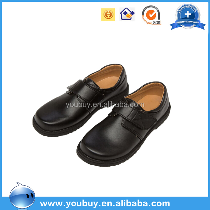 Pictures Of Latest Gowns Design Baby Boys Dress Shoes For Flower Boys/Wholesale Black School Shoes