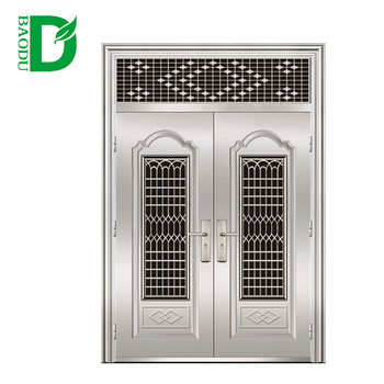 Luxury Stainless Steel Grill Door Design Bd C 212 Buy Stainless