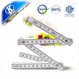 promotional 100cm wooden Folding ruler for kids