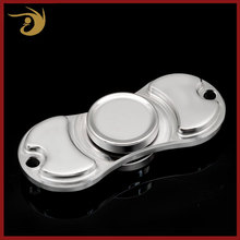 Stress Relief Titanium Finger Tri-Spinner Ball Bearing Light Hand Spinner Toys Wind Edc Fidget Spinner For Adults