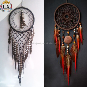 Dlx40 Wholesale Dream Catcher Wall Hanging Peacock Feather Dream Amazing Wholesale Dream Catchers