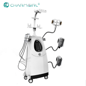 Beauty equipment 360 cryotherapy device Cavitation+RF fat freezing body slimming machine
