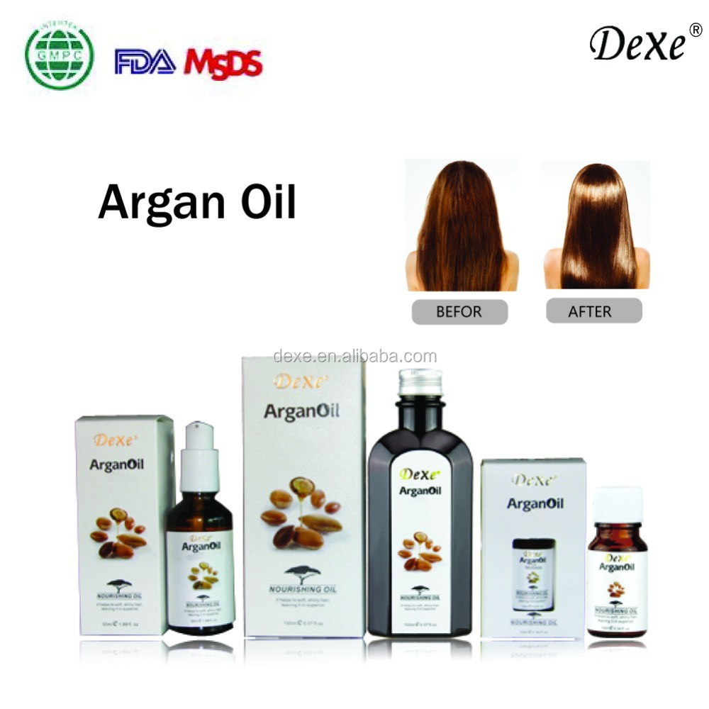 heat and UV protection argan oil smoothing serum for hair 50ML