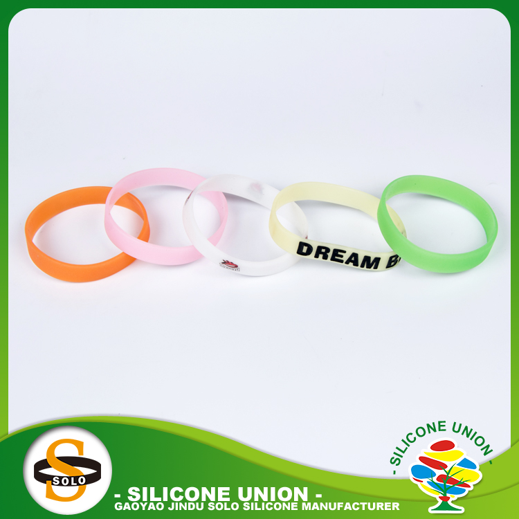 Memorial diy top 10 silicone wristbands with lowest price from factory