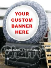 Customed 12ft Inflatable Tire Advertising Tire for sale