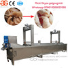 Industrial continuous fryer machine line pork rind skin fryer pork rind skin fryer