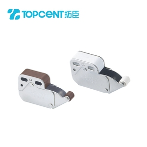 Mini-latch automatic spring push to open cabinet door catch latch