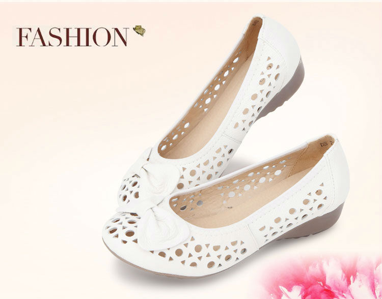 New Model Women Soft Sole Brand Name Loafers Sandals